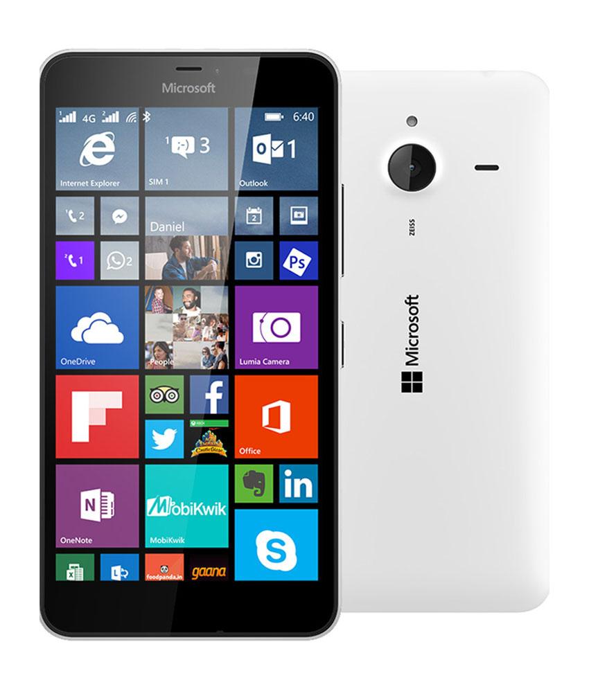 Microsoft Lumia 640 XL LTE Dual Sim Smartphone