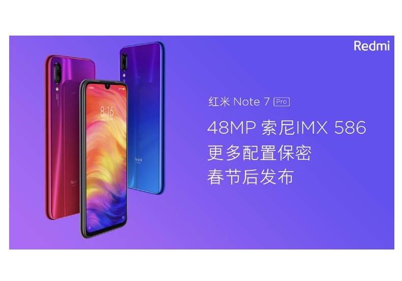Redmi Note 7 Pro - 3GB/32GB Smartphone